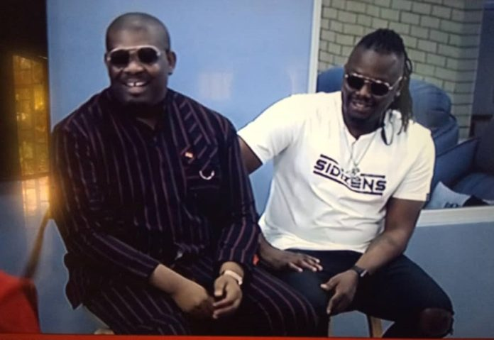 Don Jazzy and Dr Sid visits BBNaija House, September 7, 2019.